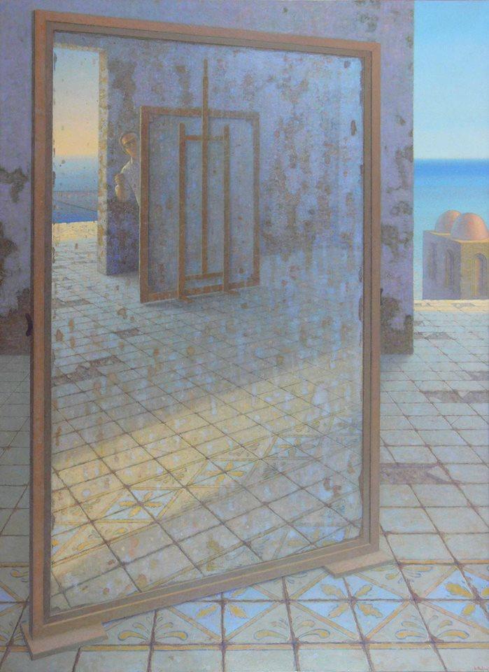 il-pittore-nellatelierautoritrattoolio-su-tavola-cm_190x1401996-97-giuseppe-modica